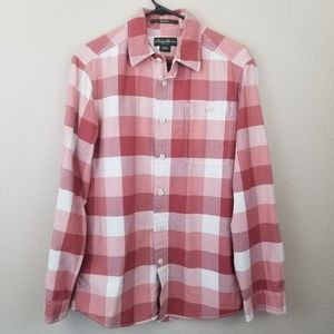 Eddie Bauer Relaxed Fit Checked Shirt